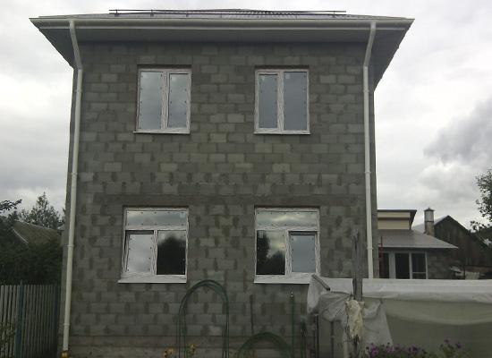 Дом из теплоблоков Федоровка
