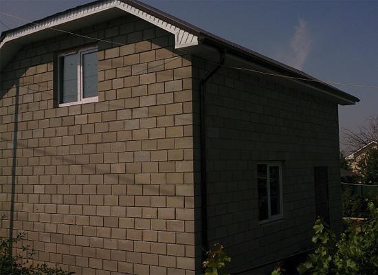 Дом из теплоблоков Новосемейкино