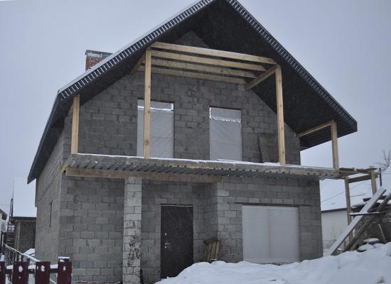 Дом из теплоблоков 19км