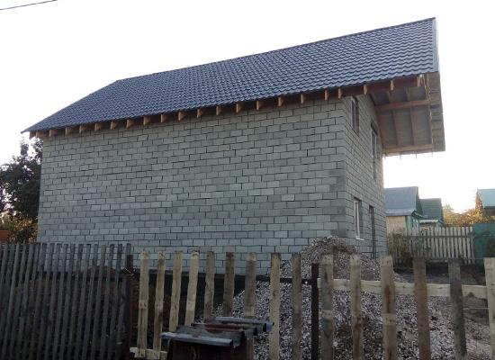 Дом из теплоблоков Самара
