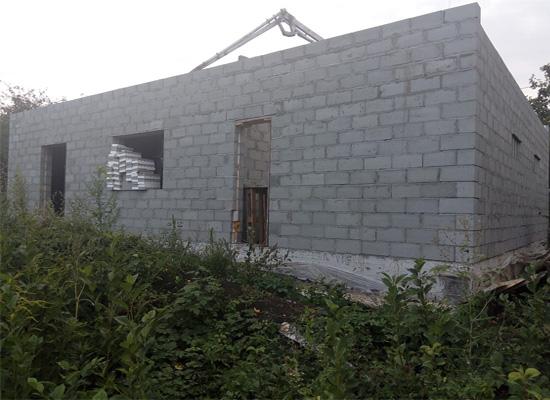 Дом из теплоблоков Зубчаниновка